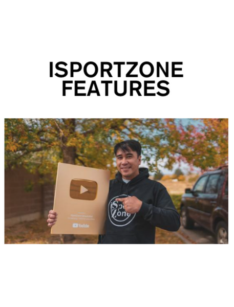 ISPORTZONE FEATURES
