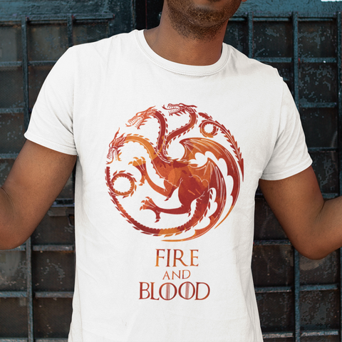 Fire and Blood Sublimation Dryfit Shirt