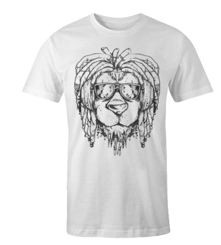 rasta lion shirt