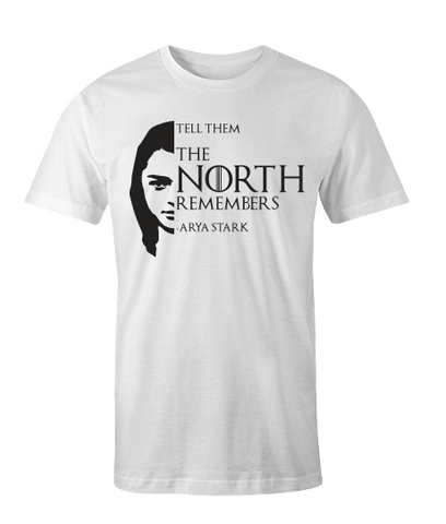 the north remembers white shirt