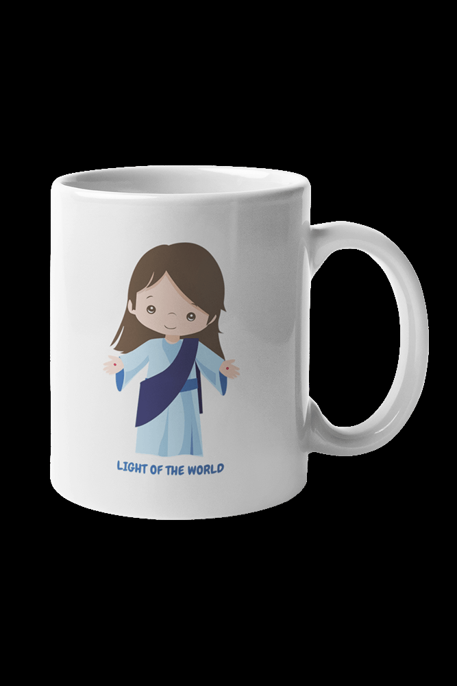 Light of the World Sublimation White Mug