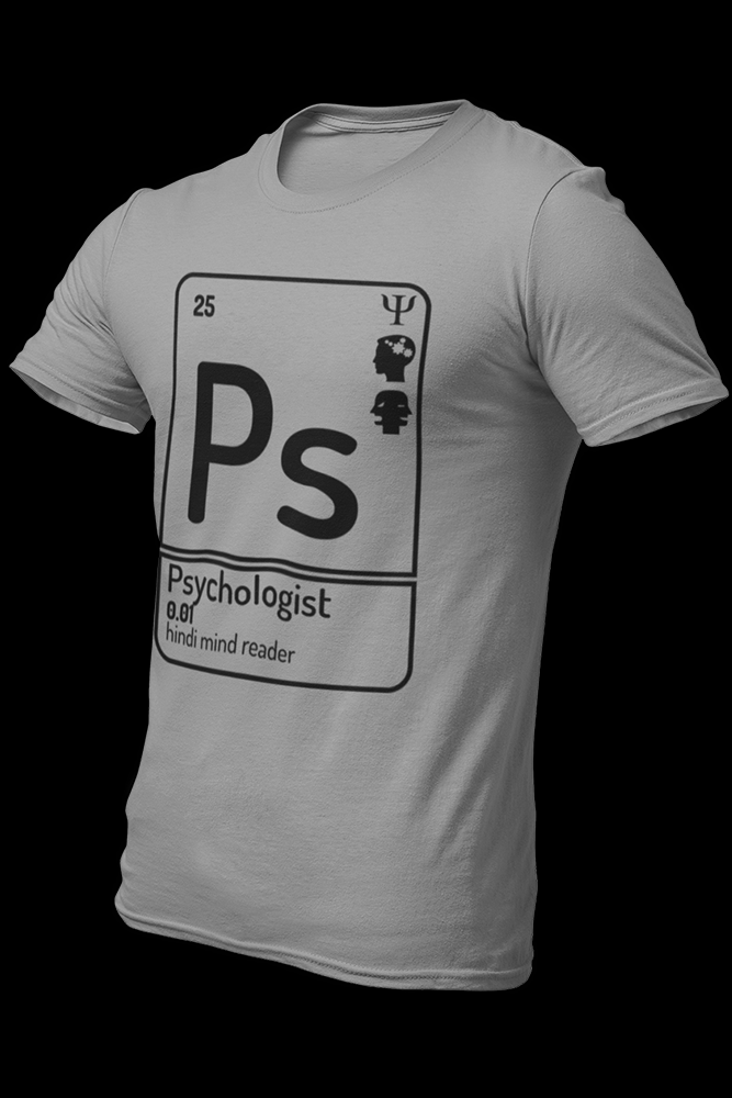 Psychologist Cotton Shirt With Logo At The Back