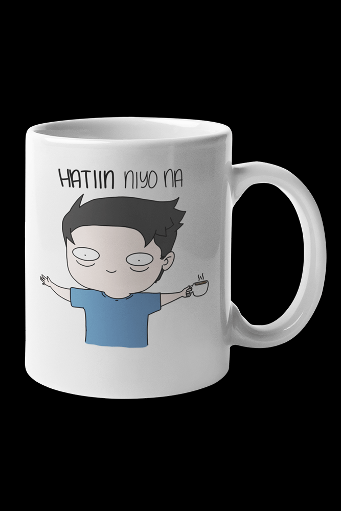 Hatiin nyo na Sublimation White Mug