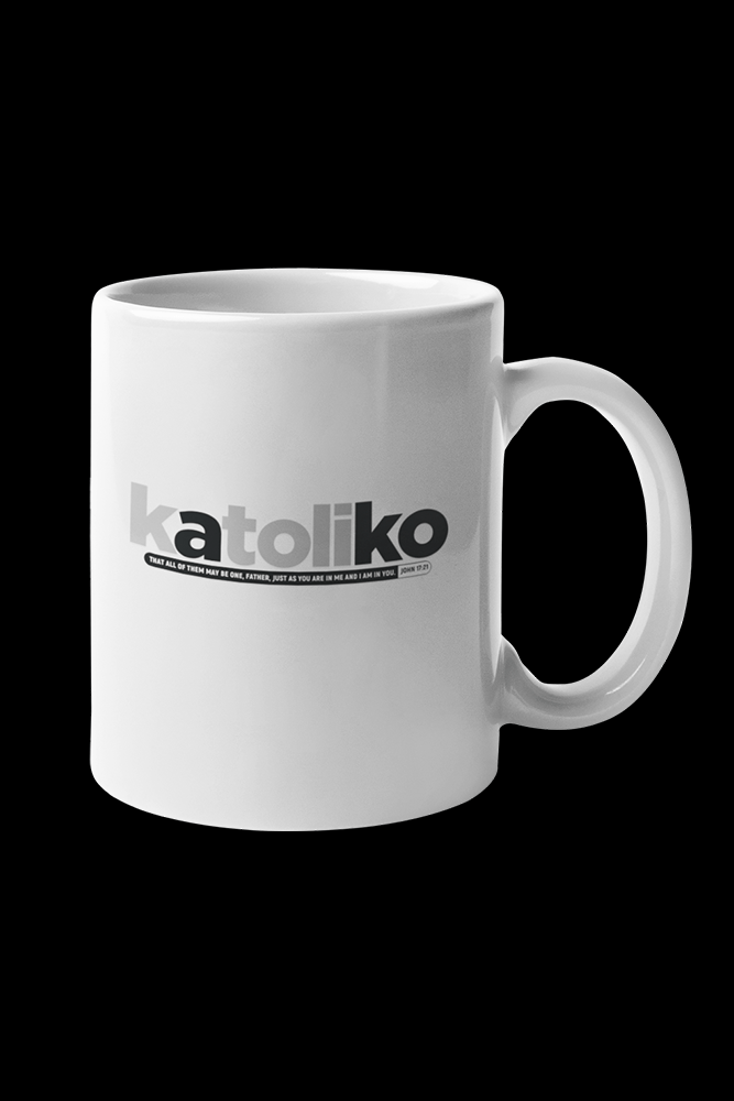 Katoliko Sublimation White Mug