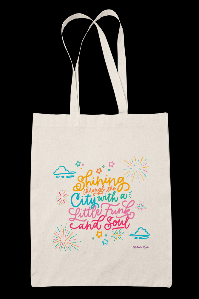 Dynamite Sublimation Canvass Tote Bag