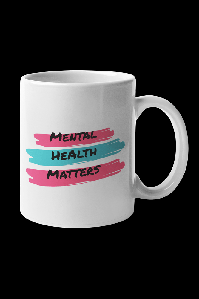 Mental health Sublimation White Mug