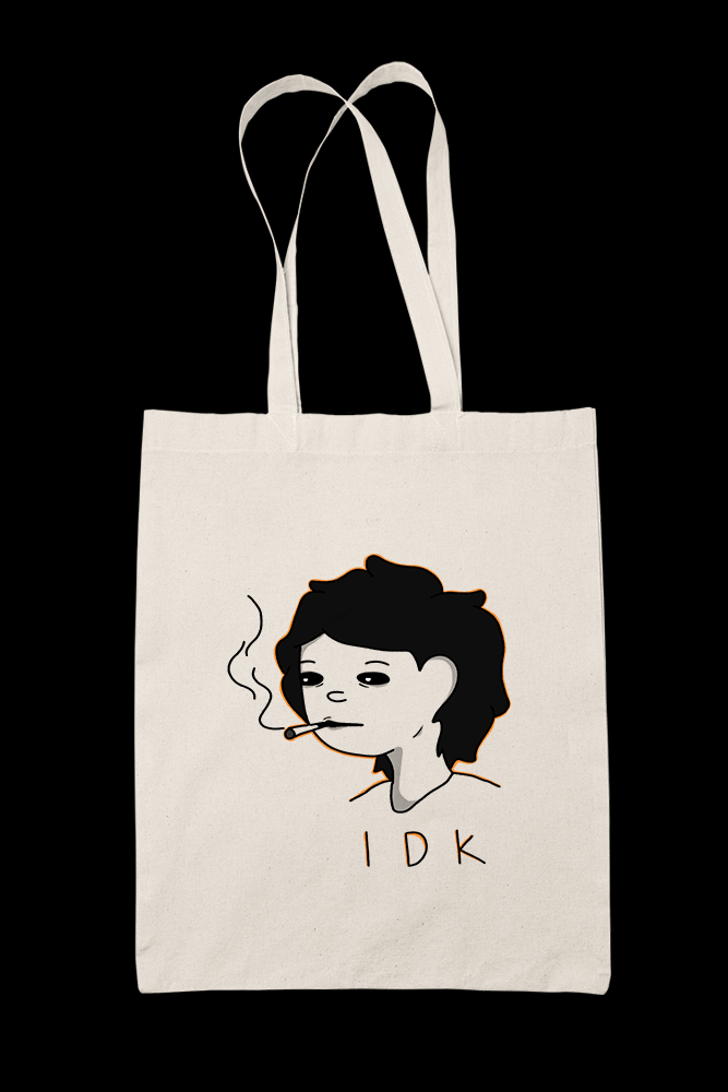 IDK Sublimation Canvass Tote Bag