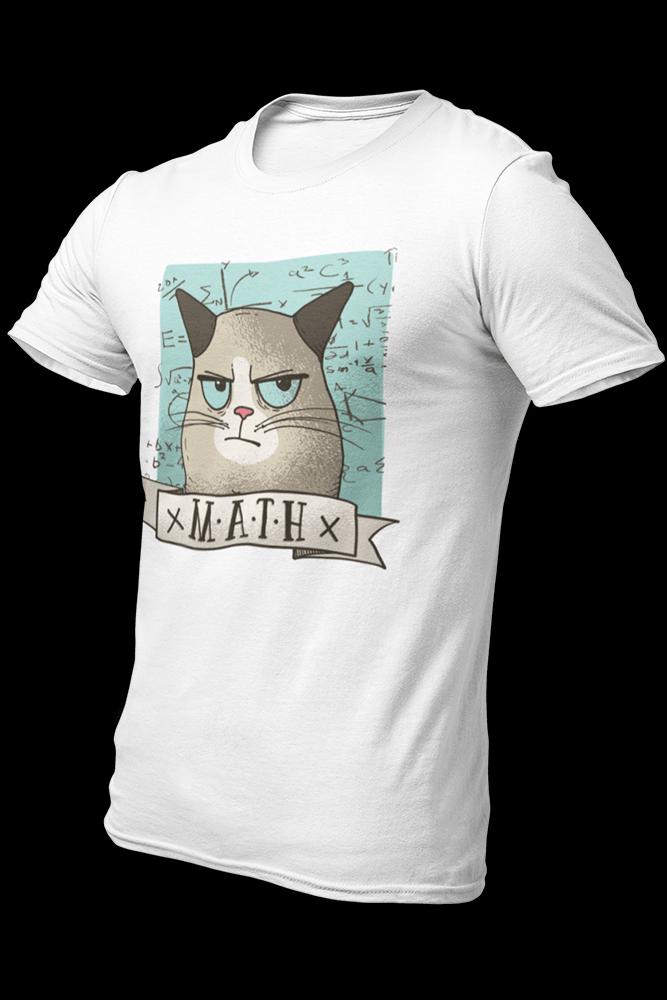 Cat Math Sublimation Dryfit Shirt