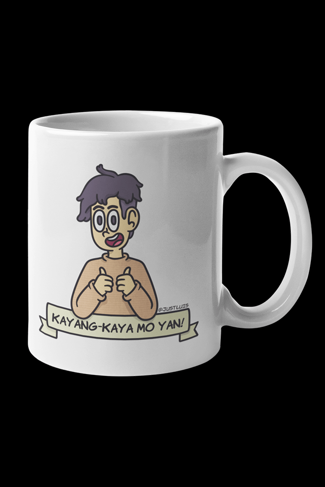 Kaya mo yan Sublimation White Mug