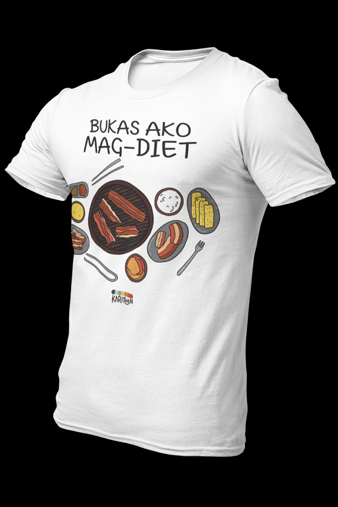 Bukas ako Magdiet Sublimation Dryfit Shirt