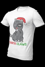 Santa claws Sublimation Dryfit Shirt With Logo At The Back