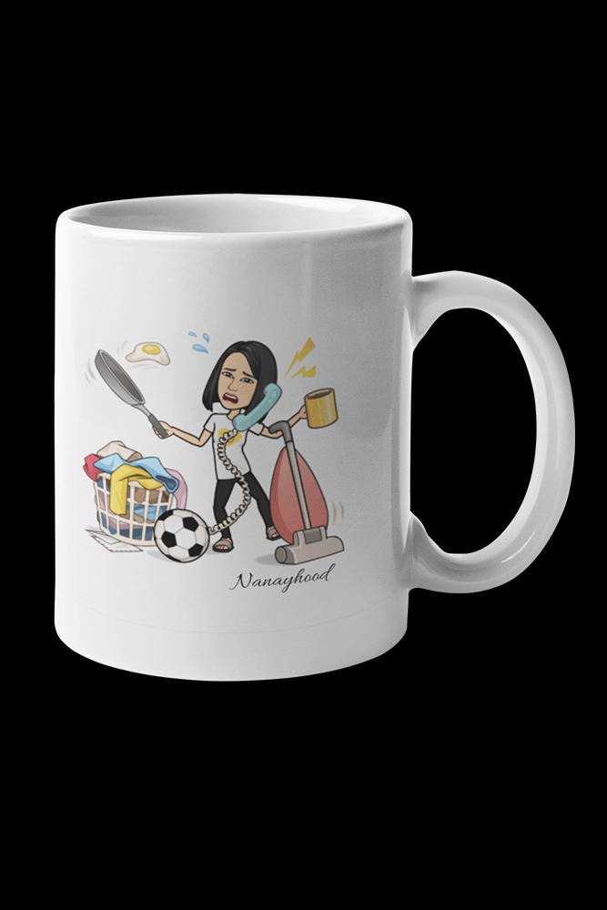 Nanayhood Multitask Sublimation White Mug