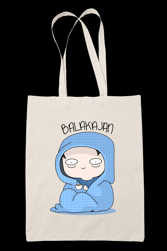 Balakajan Sublimation Canvass Tote Bag