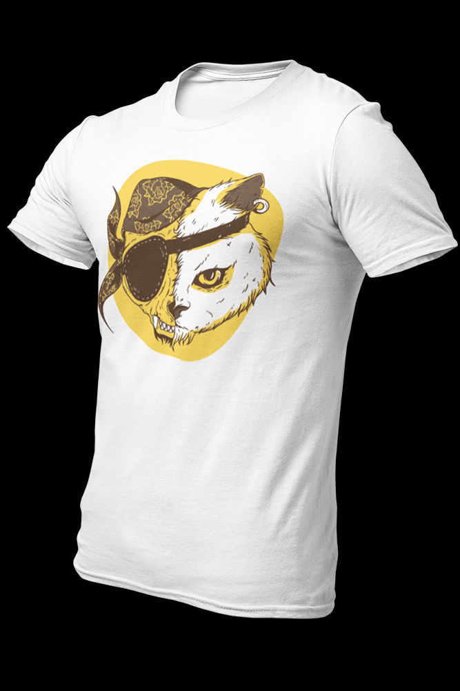 Cat Pirate Sublimation Dryfit Shirt