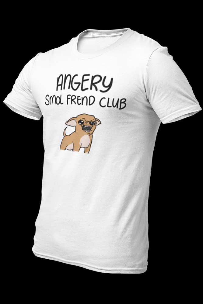 Smol frend angery Sublimation Dryfit Shirt w/Logo