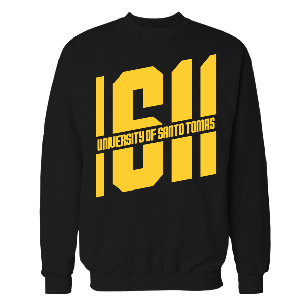 1611 Black Cotton Sweatshirt