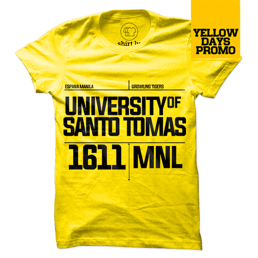 1611 MNL Yellow Cotton Shirt