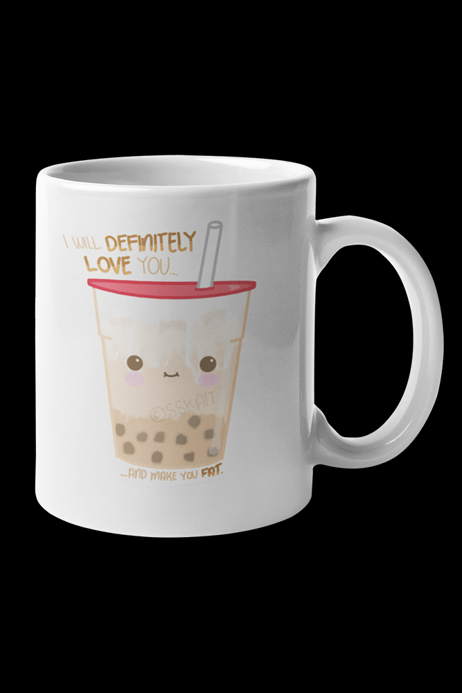 Milk Tea Sublimation White Mug