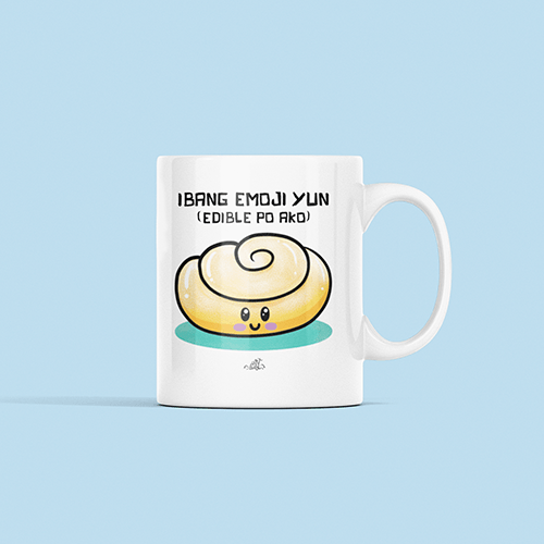 Ensaymada Sublimation White Mug