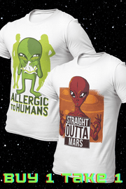 Alien Combo v6 Sublimation Dryfit Shirts