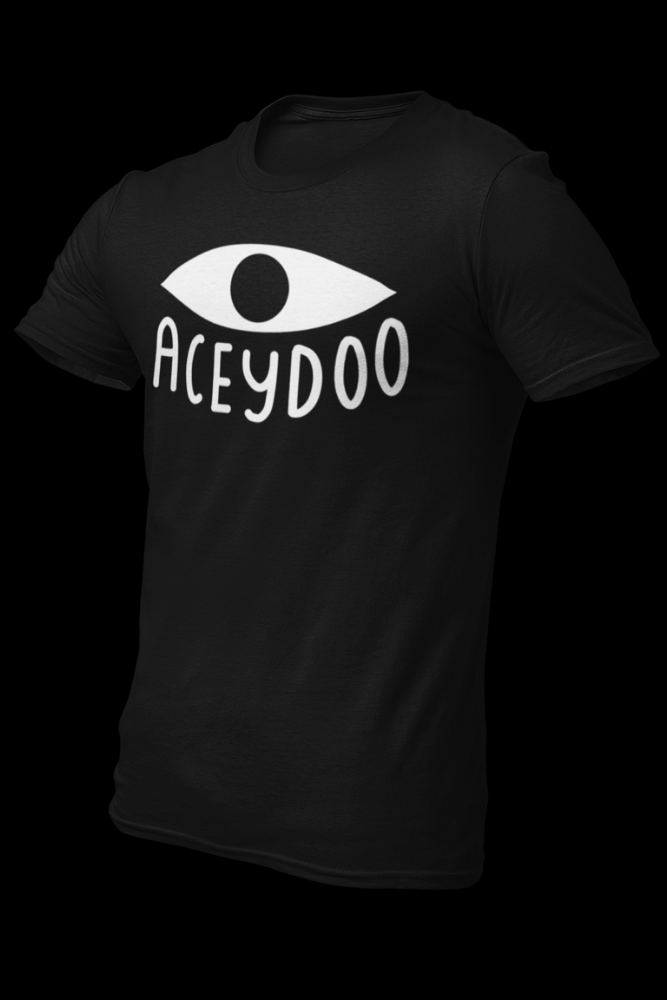 Aceydoo Official Black Cotton Shirt