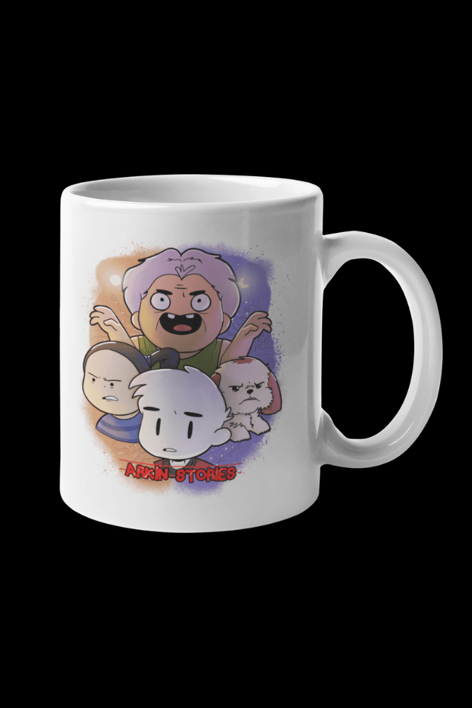 Arkin Stories ALTL Sublimation White Mug