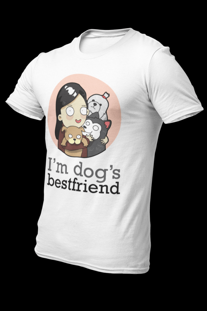 Dog BFF Female Dryfit Shirt With Logo At The Back