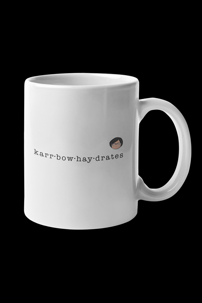 Carbohaydrates Sublimation White Mug