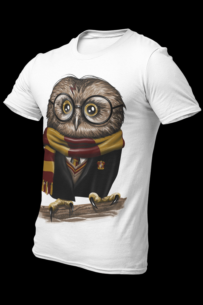 Owly Potter Sublimation Dryfit Shirt