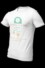 HAPPINESS IS A TIME Sublimation Dryfit Shirt w/back logo