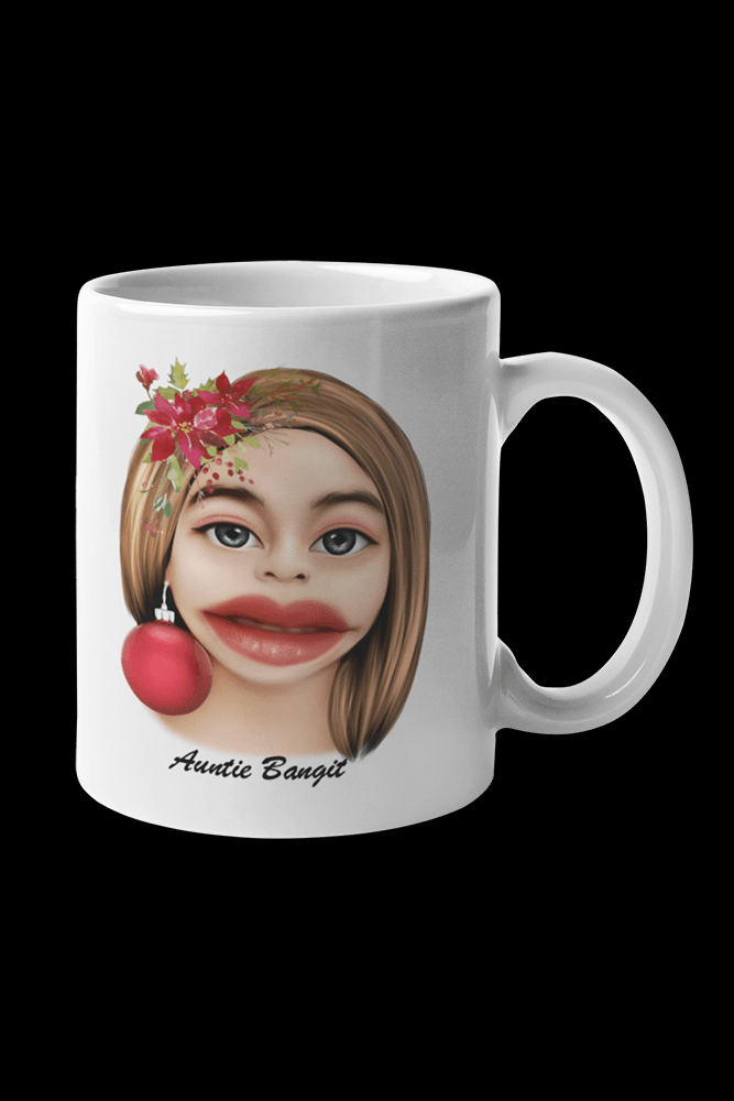 Auntie Bangit v1 Sublimation White Mug