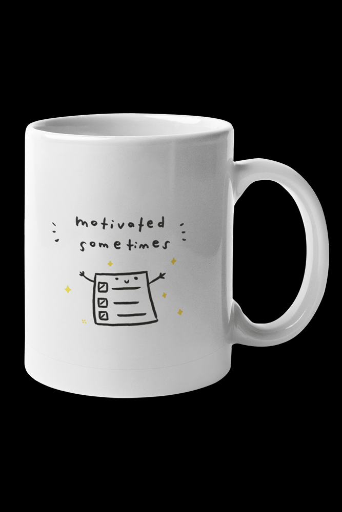 Motivated Sublimation White Mug