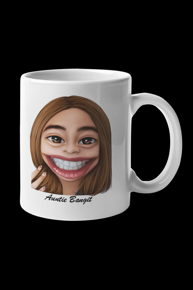 Auntie Bangit v2 Sublimation White Mug