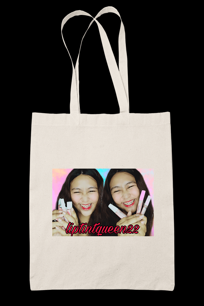 Liptint Queen Cover Photo Sublimation Canvass Tote Bag