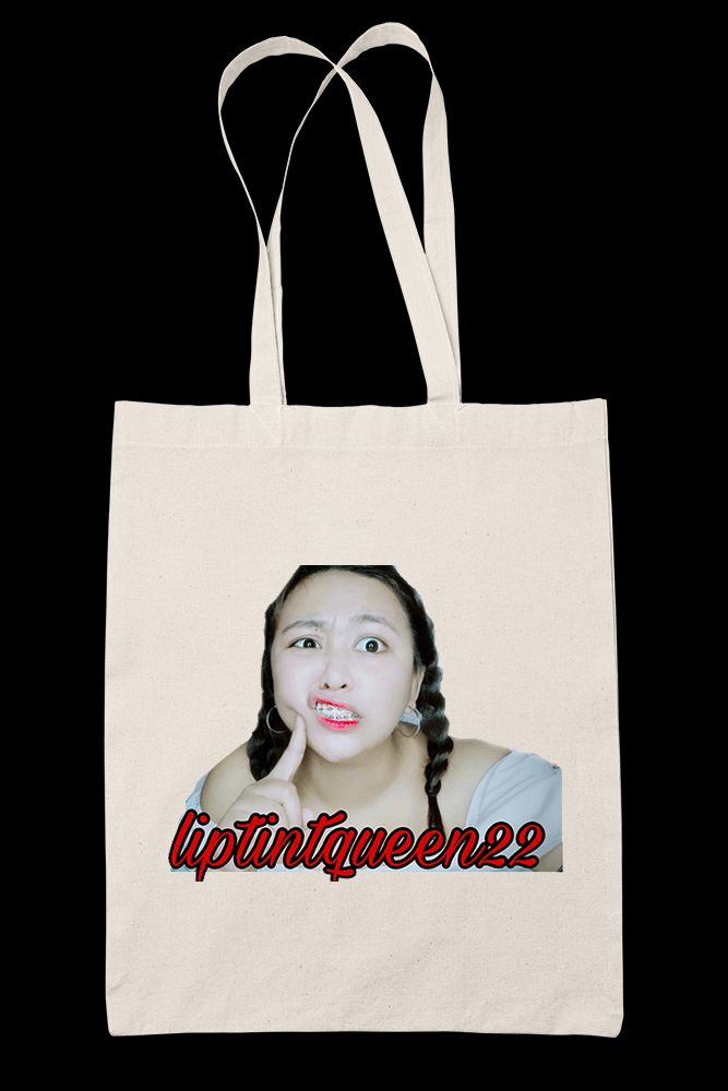 Liptint Queen 22 Sublimation Canvass Tote Bag