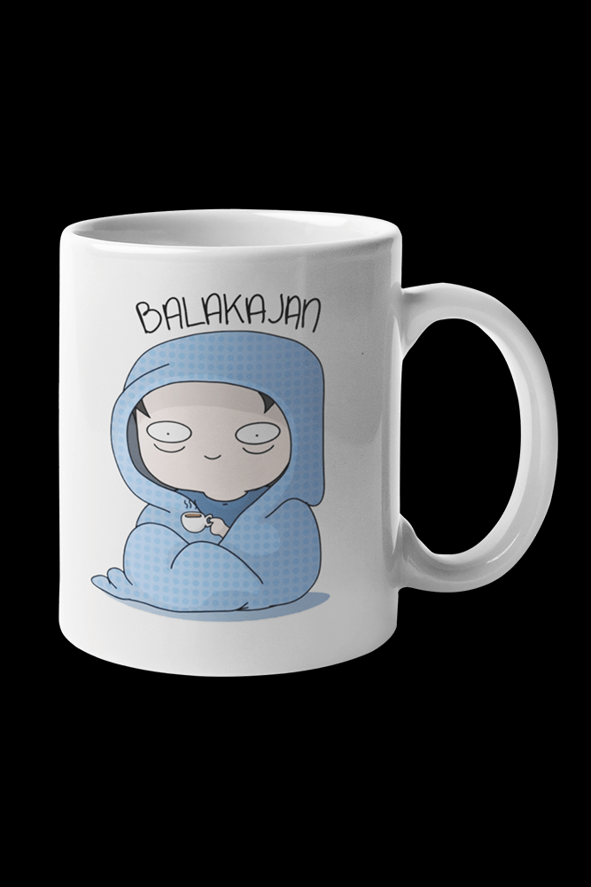 Balakajan Sublimation White Mug