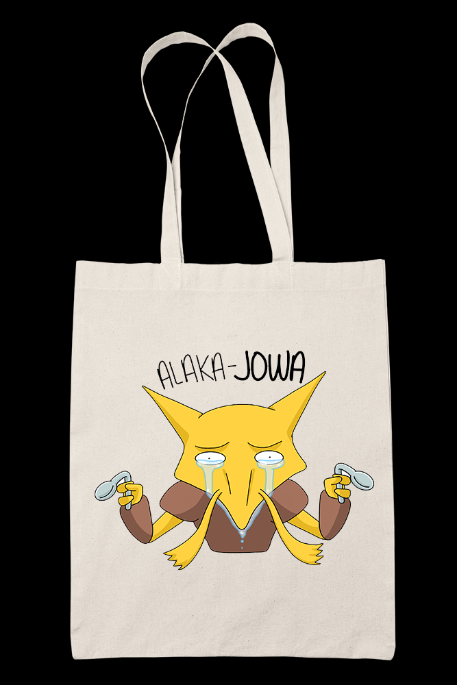 Alaka Jowa Canvass Tote Bag