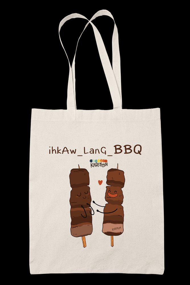 BBQ Sublimation Canvass Tote Bag