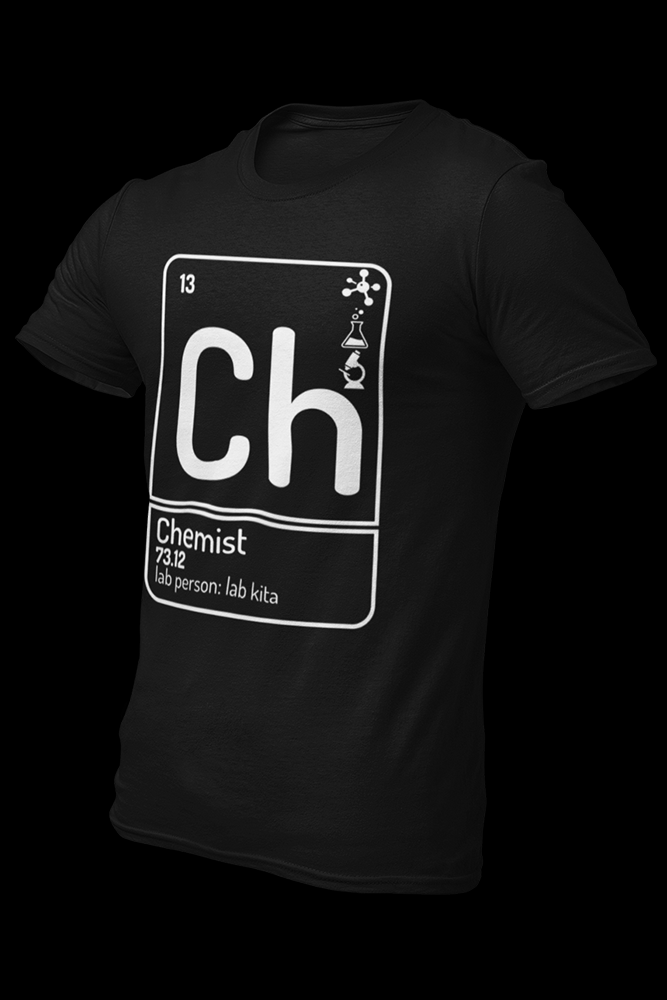 Chemist Cotton Shirt With Logo At The Back