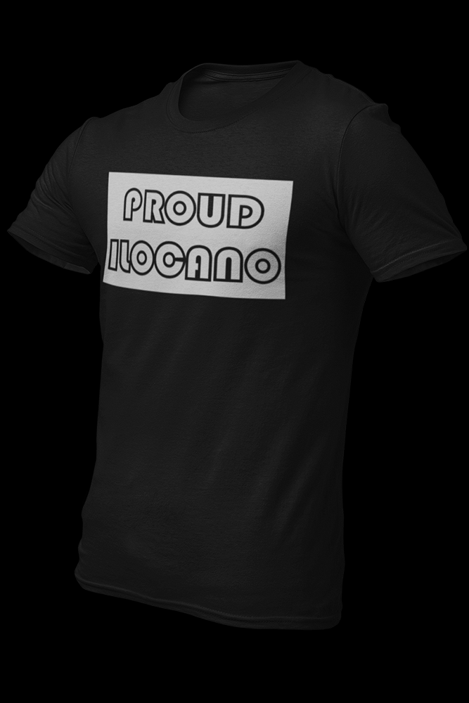 Proud Ilocano Black Cotton Shirt