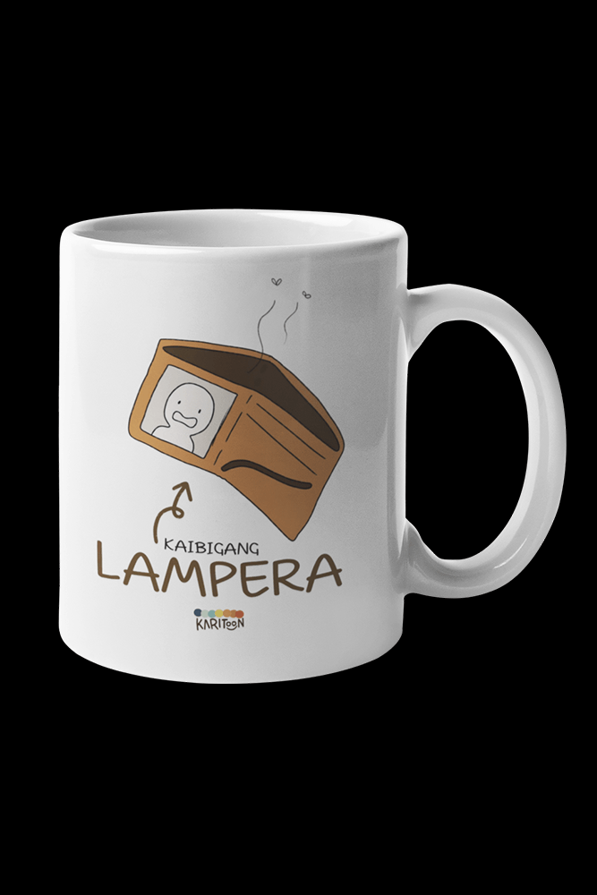 Kaibigang Lampera Sublimation White Mug