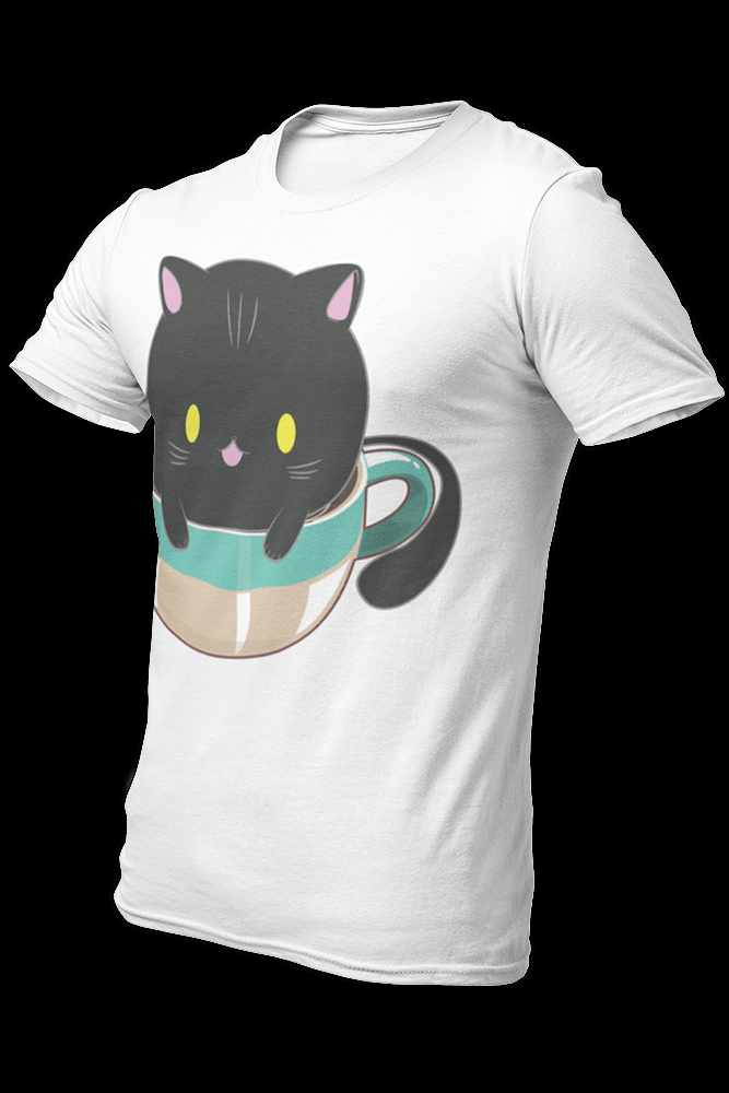 Cat and Coffee v2 Sublimation Dryfit Shirt