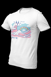 The Great Kawaii Wave Sublimation Dryfit Shirt