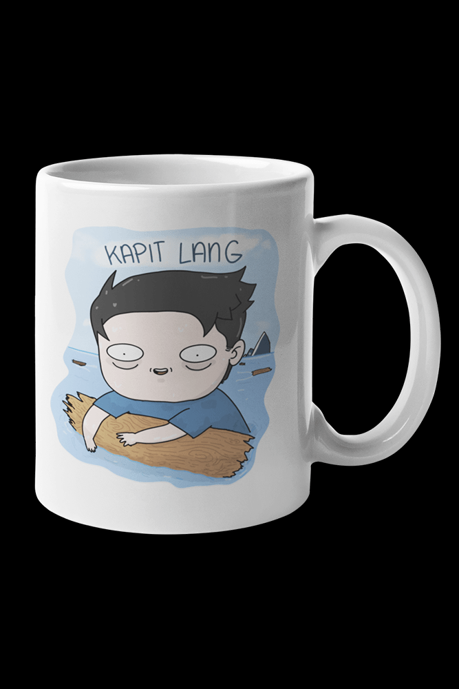 Kapit lang Sublimation White Mug