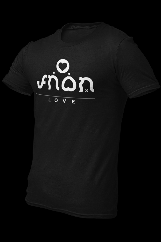 Love Cotton Shirt With Logo At The Back
