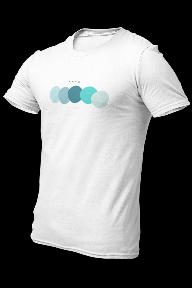 Aqua palette Sublimation Dryfit Shirt