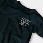 Lucky Hiking Black Embroidered Shirt