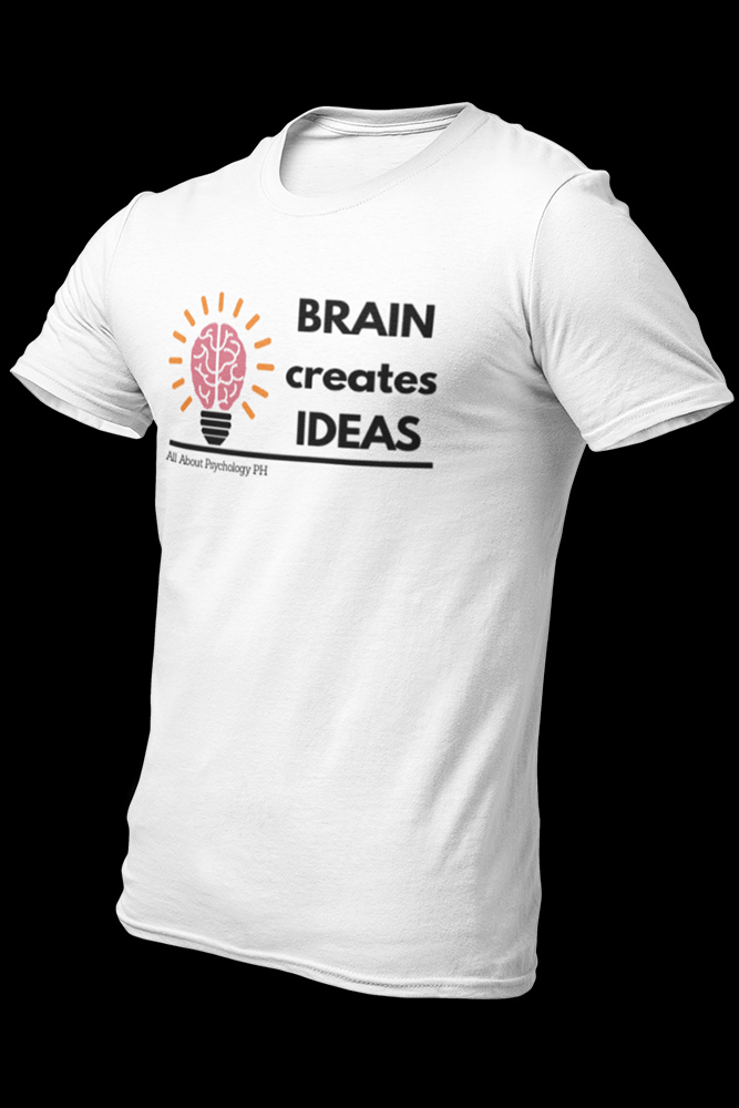 Brain Creates Ideas Bold Text Sublimation Dryfit Shirt