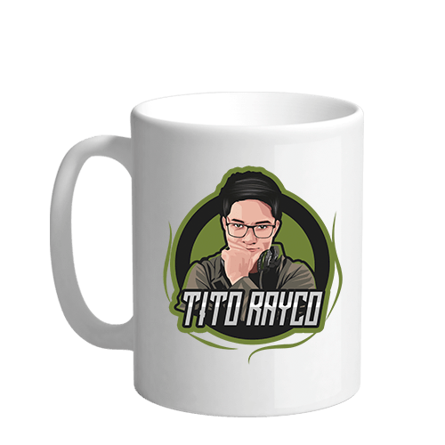 Tito Rayco Sublimation White Mug