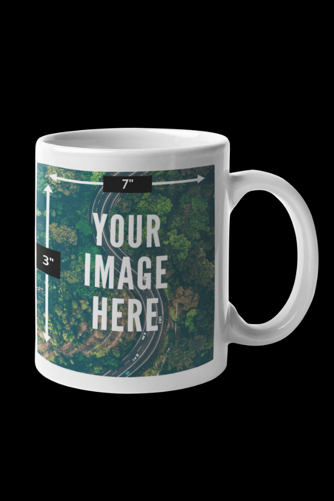 Customized Sublimation White Mug